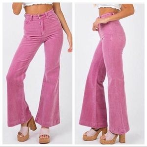 Corduroy Bell Bottom Flares!
